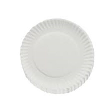 Picture of Housebrand White Paper Plates 230mm 100's