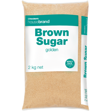 Picture of Checkers Housebrand Brown Sugar 2kg