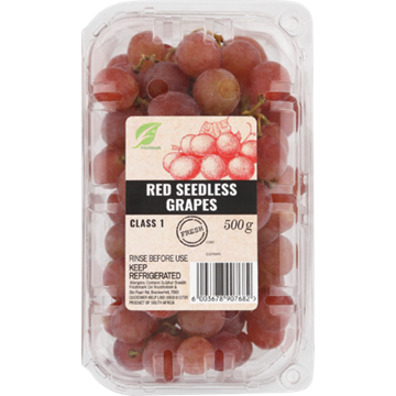 Picture of Seedless Red Grape Pack 500g