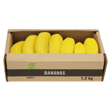 Picture of Banana Bulk Pack Box 1.2kg