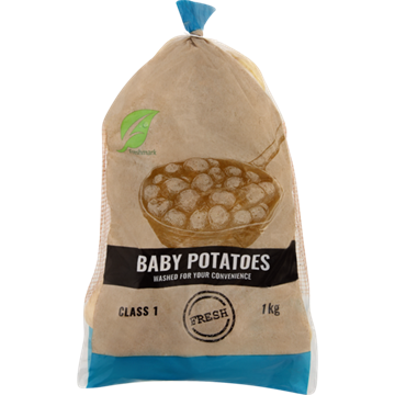 Picture of Baby Potato Potjie Poly Bag Each