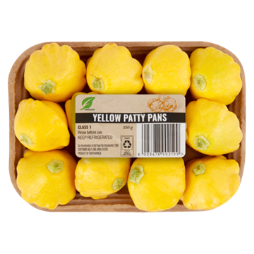 Picture of Yellow Patty Pan Pack 250g