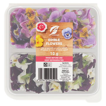 Picture of Edible Flowers Prepacked Each