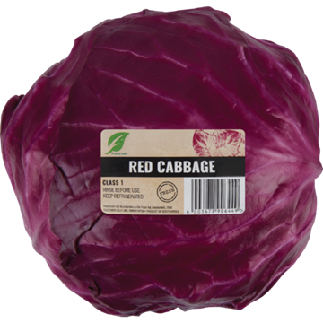 Picture of Red Cabbage Wrapped Each