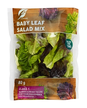 Picture of Baby Lettuce Leaf Pack 130g