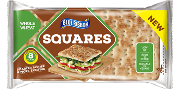 Picture of Blue Ribbon Wholewheat Sandwich Square 4 x 62g