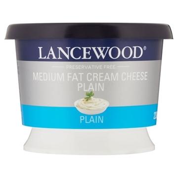 Picture of Lancewood Original Cream Cheese Tub 230g