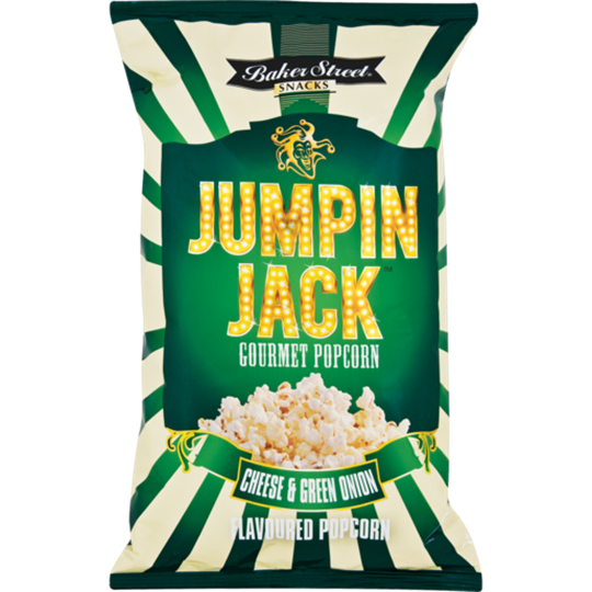 Picture of Jumpin Jack Cheese & Green Onion Popcorn 100g
