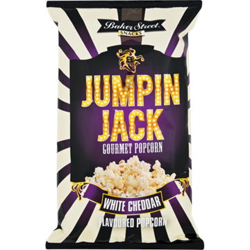 Picture of Jumpin Jack White Cheddar Popcorn 100g
