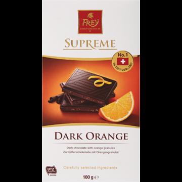 Picture of Frey Dark Orange Chocolate Slab 100g