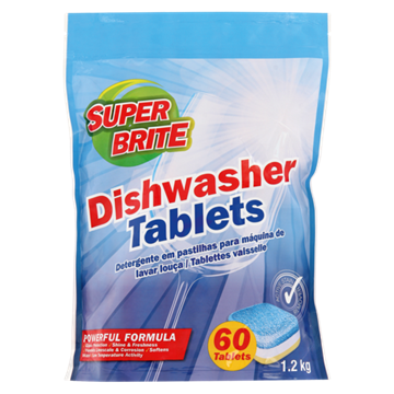 Picture of Superbrite All in 1 Dishwasher Tab 60's