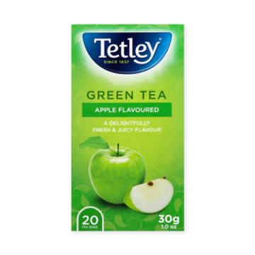 Picture of Tetley Green Tea & Apple Teabags 20s