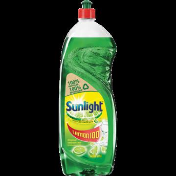 Picture of Sunlight Lemon Dishwashing Liquid 400ml