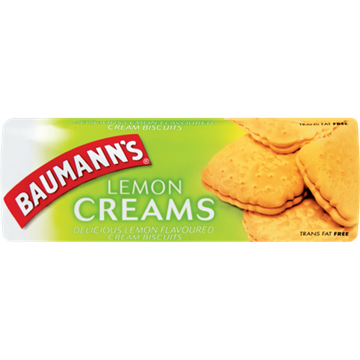 Picture of Baumann's Lemon Creams Biscuits 200g