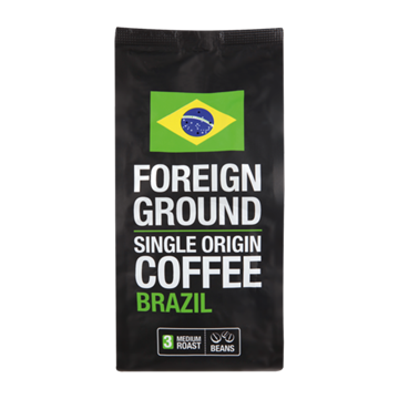 Picture of Foreign Ground Brazilian Ground Coffee 250g