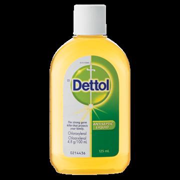 Picture of Dettol Antiseptic Liquid 125ml
