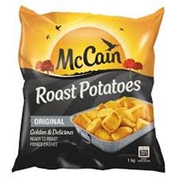 Picture of McCain Frozen Roast Potato Pack 1kg