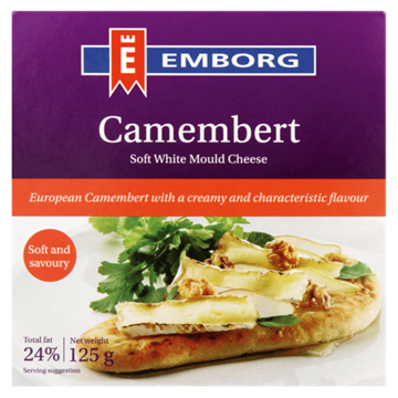 Picture of Emborg Camembert Cheese Box 125g