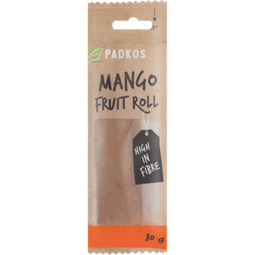 Picture of Padkos Dried Mango Fruit Roll 80g