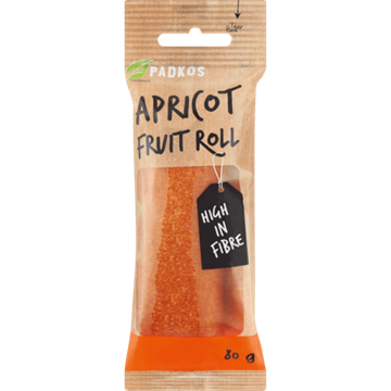 Picture of Padkos Dried Apricot Fruit Roll 80g