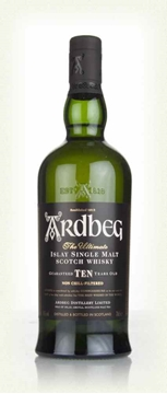 Picture of Ardberg 10 Yr Old Islay Single Malt Whiskey 750ml