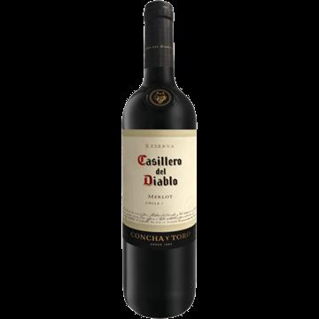 Picture of Casillero Del Diablo Merlot Wine Bottle 750ml