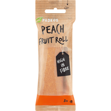 Picture of Padkos Dried Peach Fruit Roll 80g