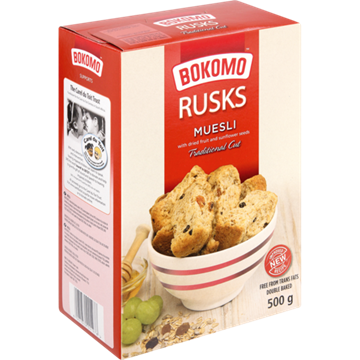 Picture of Bokomo Muesli Rusks 500g