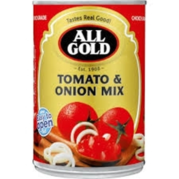 Picture of All Gold Tomato & Onion Mix 410g