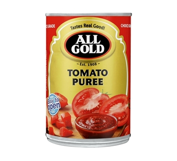 Picture of All Gold Tomato Puree Can 410g