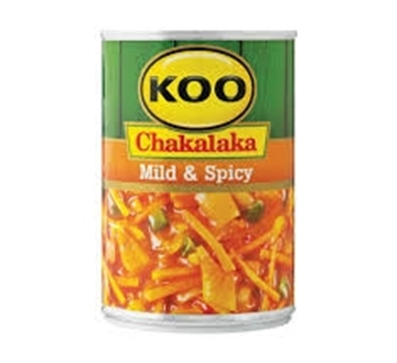 Picture of Koo Mild Chakalaka Can 410g