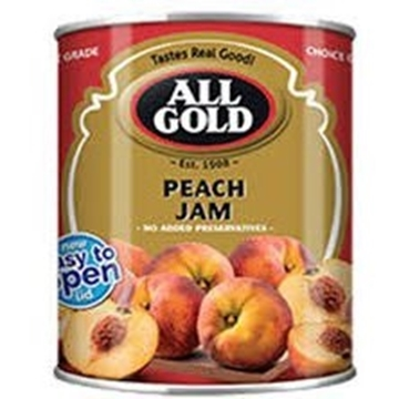 Picture of All Gold Smooth Peach Jam Can 450g