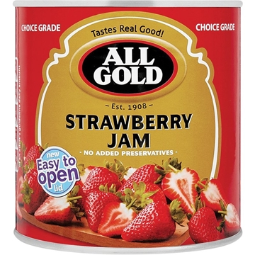 Picture of All Gold Strawberry Jam Can 3.75kg