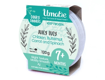Picture of Dinky Dinners Frozen Chicken Meal Juicy Lucy 120g