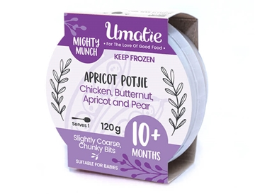 Picture of Mighty Munch Frozen Chicken Apricot Potjie 120g