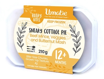Picture of Bulky Bites Frozen Sneaky Cottage Pie 210g