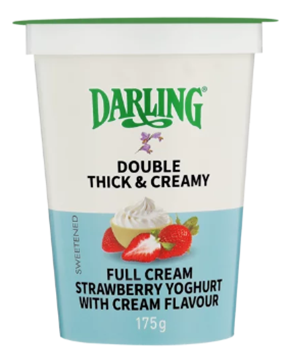 Picture of Darling Strawberry Fruit Full Cream Yoghurt 175g