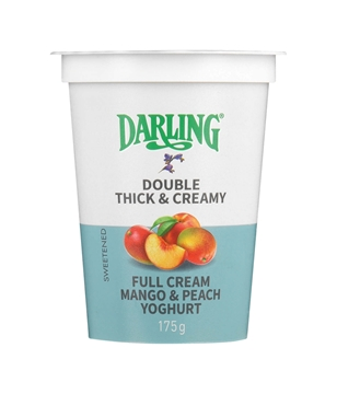 Picture of Darling Mango & Peach Fruit Yoghurt 175g