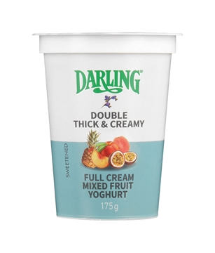 Picture of Darling Mixed Fruit Fruit Full Cream Yoghurt 175g