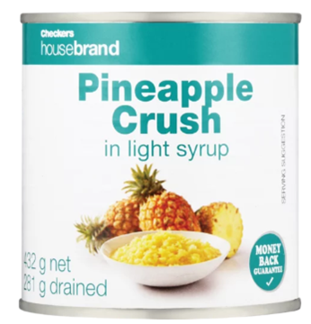 Picture of Checkers Housebrand Pineapple Crush Can 440g