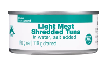 Picture of Checkers Housebrand Shredded Tuna In Water 170g