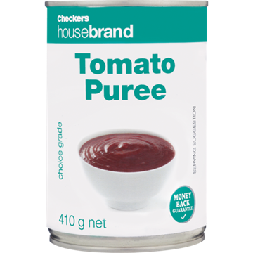 Picture of Checkers Housebrand Tomato Puree Can 410g