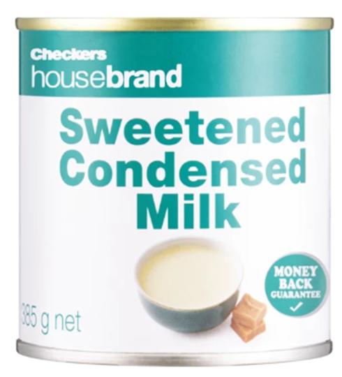 Picture of Housebrand Sweet Full Cream Condensed Milk 385g