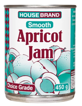 Picture of Housebrand Smooth Apricot Jam Can 450g