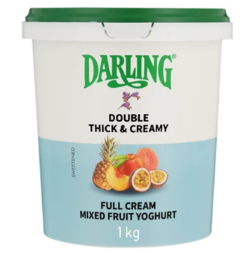 Picture of Darling Full Cream Mixed Fruit Yoghurt 1kg