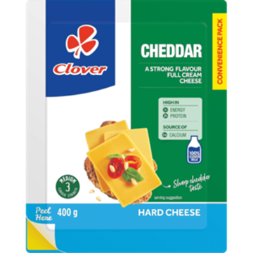 Picture of Clover Cheddar Cheese 200g Pack