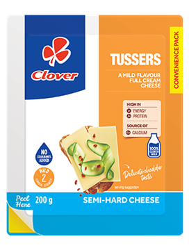 Picture of Clover Tusser Cheese 200g Pack