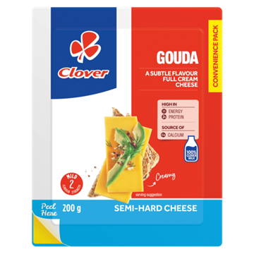 Picture of Clover Gouda Cheese 200g Pack