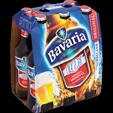 Picture of Bavaria Original 100% No Alc Beer 6x330ml Bottle