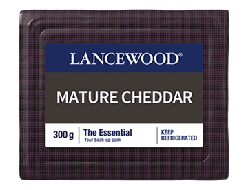 Picture of Lancewood Mature Cheddar Cheese Pack 300g